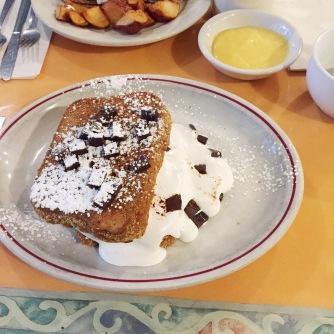 french toast at sugar magnolias
